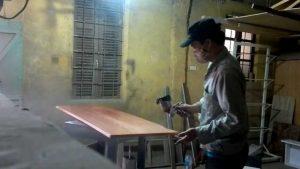sơn đồ gỗ